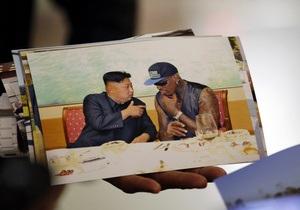 Ким Чен Ун отличный отец. Деннис Родман рассказал о своих впечатлениях от поездки в КНДР