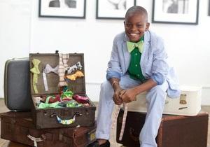 11-летний Мо сделал бизнес на галстуках