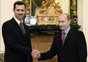 Война в Сирии - Асад поблагодарил Путина за его позицию на саммите G20