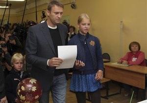 Навальный уверен, что вышел в второй тур