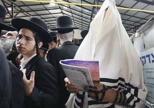 хасиды - еврейский новый год - Паломники-хасиды начали уезжать из Умани