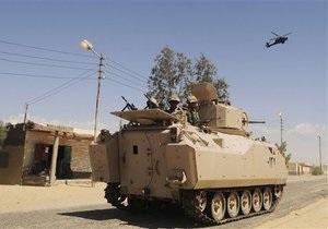 Армия Египта громит базы боевиков на Синае