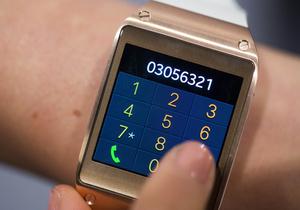 Розумний годинник Samsung - новинки Samsung - Фотогалерея: Новинки Galaxy. Samsung презентувала  розумний  годинник, а також новий смартфон і планшет