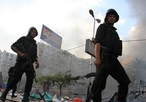 Рядом с кортежем главы МВД Египта прогремел взрыв