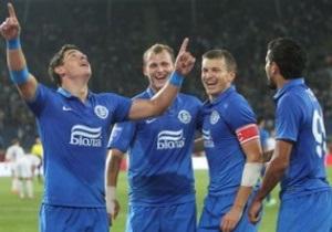 Днепр заявил на Лигу Европы 25 футболистов