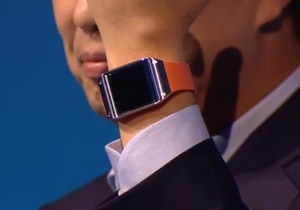 Samsung представила  умные  часы Galaxy Gear