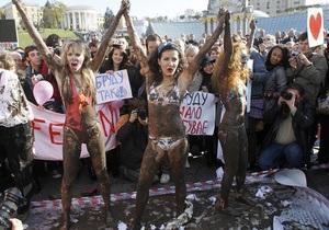 Британские СМИ: серый кардинал в FEMEN - мужчина