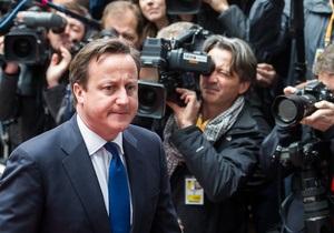 Кэмерон: Вмешательство США не позволит властям Сирии вновь применить химоружие