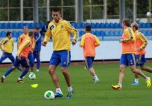 Фотогалерея: Футбол с серьезными лицами. Украина готовится к Сан-Марино