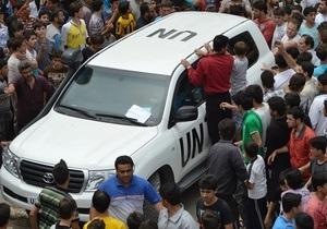 Генсек ООН назвал два условия законного удара по Сирии