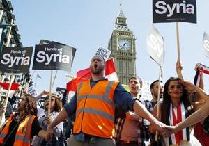 80% британцев выступают против вторжения в Сирию без разрешения ООН