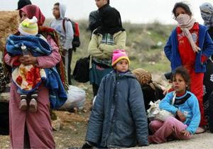 Война в Сирии - Эхо войны. С начала конфликта в Сирии более двух миллионов человек стали беженцами
