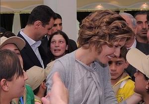 Асад - Жена Асада ведет роскошную жизнь даже в бункере - СМИ