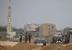 Египетские военные разрушают жилые дома вдоль границы с Газой