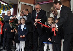 Новости Киева - К новому учебному году в столице открыли гимназию Киевская Русь