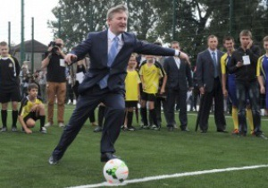 Ахметов: Мы хотим, чтобы киевское Динамо было очень сильным клубом