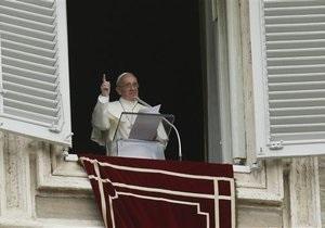 Война в Сирии - Папа Римский - Франциск: Пара Римский призвал католиков молиться за мир в Сирии