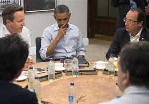 Война в Сирии - Франция - Обама - Кэмерон: Франция не будет проводить операцию в Сирии без США