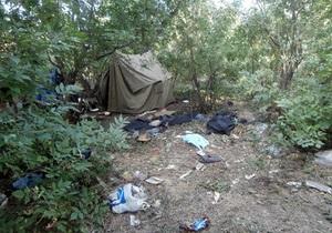 новости Донецкой области - ограбление - кража - В Донецкой области правоохранители нашли грабителей по украденным вещам, которые они теряли по дороге