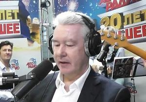 Собянин в прямом эфире спел предвыборный римейк на песню Кобзона