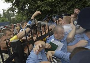 По делу штурма Святошинского РОВД задержан сын главреда журнала Волонтер