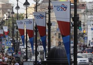 В повестке дня G20 отсутствует вопрос по Сирии - помощник Путина