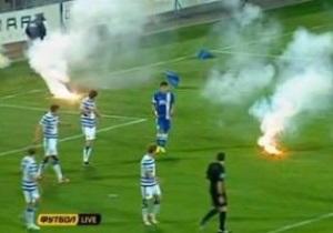 Севастополь не наказали техническим поражением за попытку фанатов сорвать матч