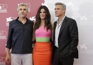 Фотогалерея: Клуни, Буллок, Гравитация. Открылся Венецианский кинофестиваль