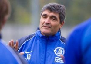 Тренер Днепра напомнил журналистам, что завтра официальная игра