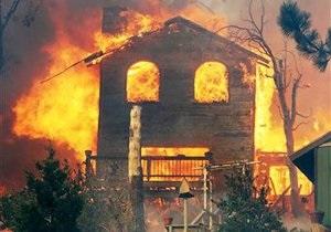 Новости США - пожар - Лесной пожар в Калифорнии уничтожил 111 построек