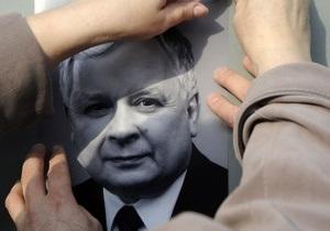 Сайт знакомств извинился за билборды с покойным польским президентом - лех качиньский