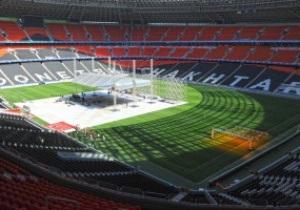 Стадион Шахтера превратился в боксерский ринг