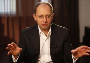 Яценюк: Генпрокурор не відкриє кримінальне провадження проти правоохоронних органів
