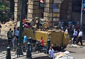 Сутички в Єгипті - ситуація в Каїрі: ув язнені померли від задухи
