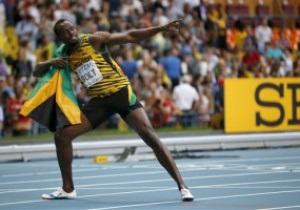 Усэйн Болт выиграл золото Чемпионата мира на 200-метровке