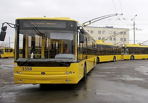 Новини Києва - Київпастранс - Кредит від ЄБРР - Тролейбус за 4 млн. Київпастранс відзвітував про поповнення парку за кредитні кошти ЄБРР