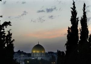 Ізраїль і Палестина провели переговори щодо мирного врегулювання