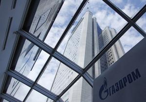 Новини Газпрому - прибуток газпрому - Газпром у першому півріччі втратив третину прибутку