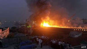 Пожежа на індійському підводному човні: є жертви