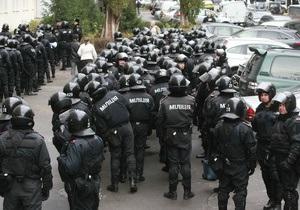 Беркут переорієнтовується зі злочинців на демонстрантів - DW