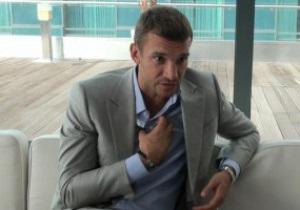 Шевченко: Не уявляю свого життя без футболу