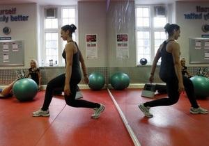 Фітнес - вага - схудення - заняття