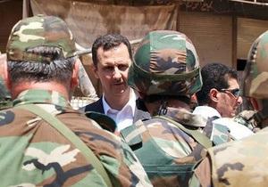 Влада Сирії назвала вигаданими повідомлення про обстріл кортежу Асада