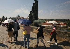 Небувала спека в Чехії встановила 115 рекордів