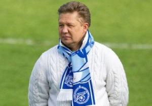 Голова Газпрому: В Об єднаному чемпіонаті сліпі судити не будуть