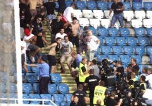 Чорноморець подякував міліції за втихомирення гарячих сербських фанатів
