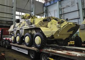 Укрспецекспорт - БТР - Укрспецекспорт не став коментувати ЗМІ деталі поставок БТР в Ірак