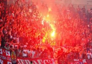 Фотогалерея. Как фанаты в Одессе на матче Лиги Европы зажигали