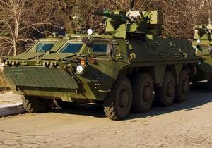 Укрспецекспорт - БТР - Ірак відмовляється приймати браковані українські БТР