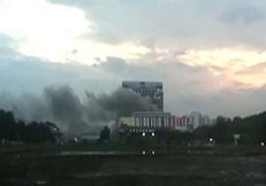 Пожежа в Останкіно - новини Москви - Пожежу в Останкіно не погашено. З будівлі евакуйовано понад тисячу осіб